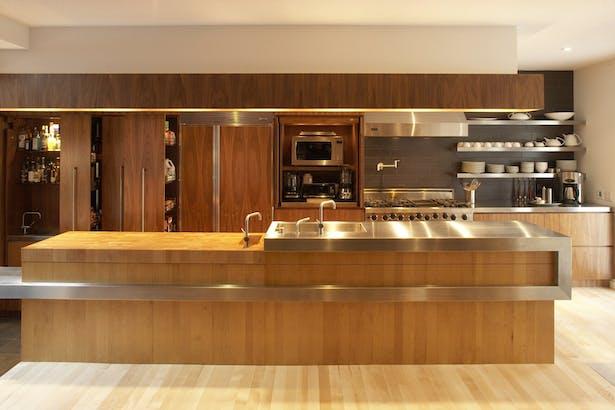 Cabbagetown Coach House Kitchen