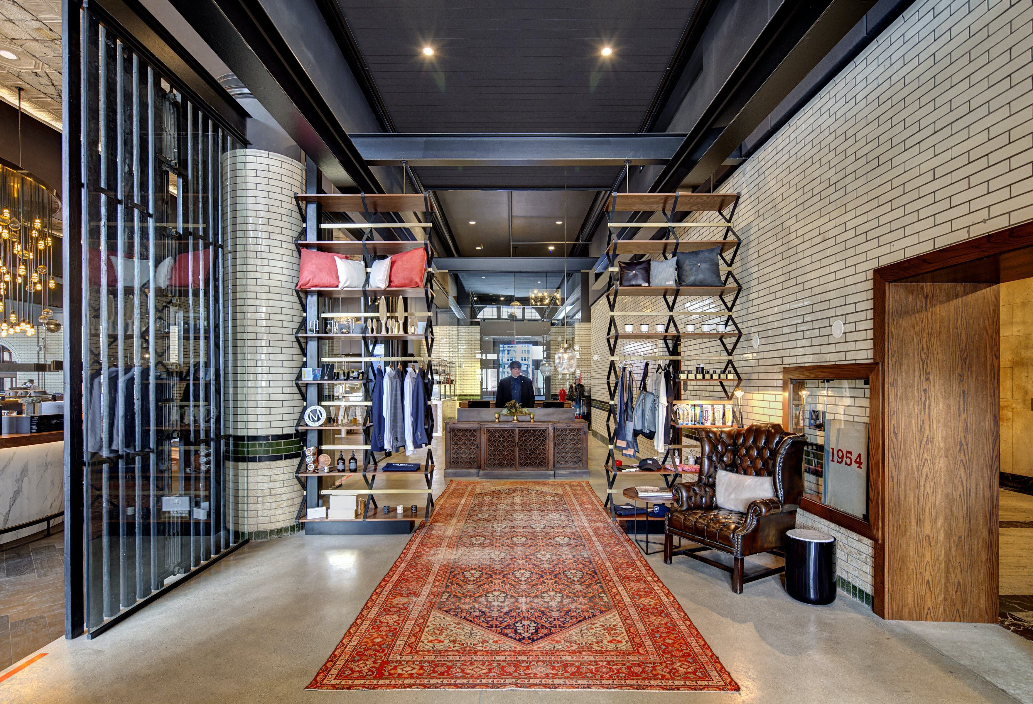 Foundation hotel former detroit fire dept headquarters - Interior design jobs in michigan ...
