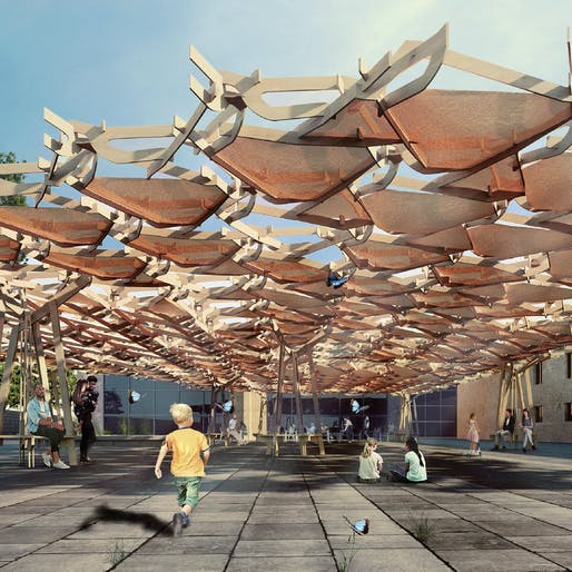 Pop up and Temporary Structures Award Winner – Nexormorphosis by Oksana Tyltina, Theresa Lohse (Germany)