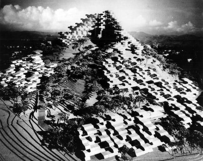 Habitat Puerto Rico, Model Site 2. Courtesy of Safdie Architects.