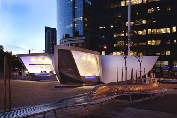 New Amsterdam Pavilion (Image: Handel Architects)