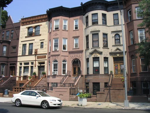 Brooklyn's Bedford-Stuyvesant neighborhood became synonymous with gentrification in New York City. Image via Wikipedia.
