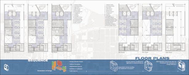 CARTA Downtown Floor Plans