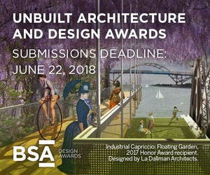 2018 BSA Unbuilt Architecture and Design