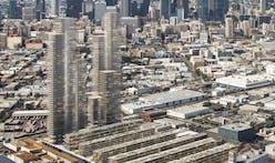 """Needle exchange: a look at Herzog & de Meuron's transformative """"needle"""" tower development in DTLA's arts district"""