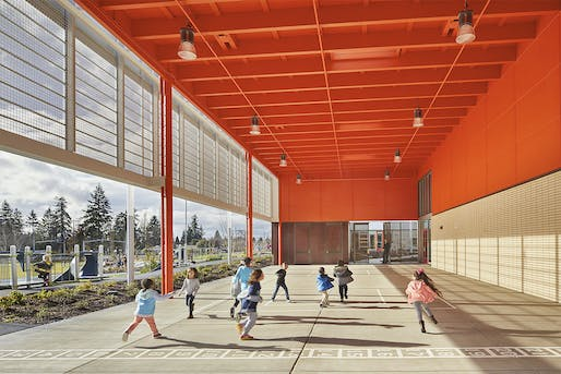 Arlington Elementary School. Photo: Benjamin Benschneider. Photo: