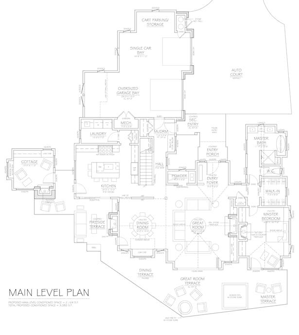 Floor Plan for the McLea Family