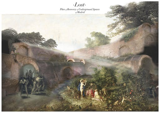 """Perdido (Lost) -P.R.U.S. of Madrid"" by Julio Gotor Valcárcel | ETSAM, DPA ETSAM (ES)."