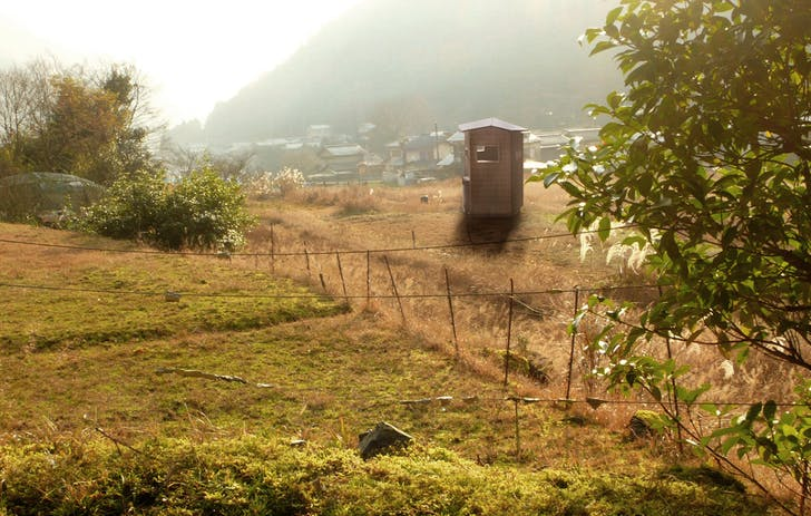 Yase, Japan Field Shed with a Study Above, 2010-2011 Project, Logan Amont