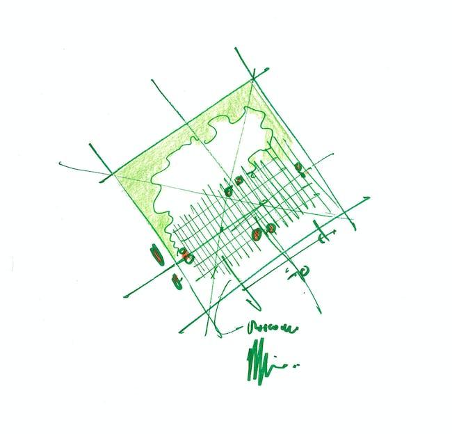 Site Plan Sketch (via RPBW 2015)