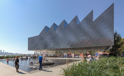 The Polygon Gallery in North Vancouver, Canada by Patkau Architects. Photo: James Dow.
