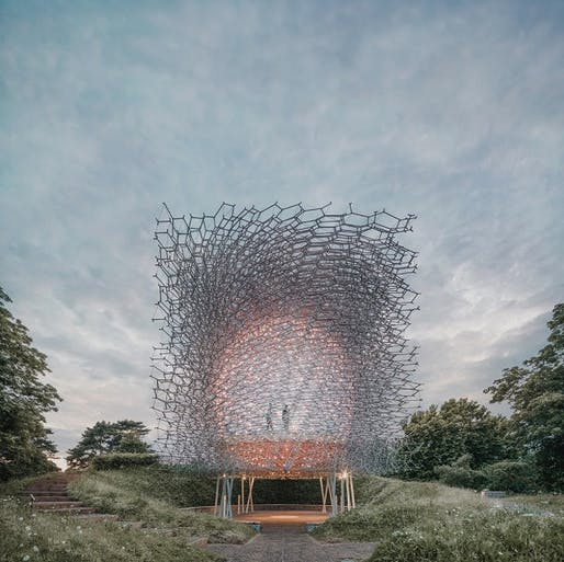The Hive in London, UK by Wolfgang Buttress