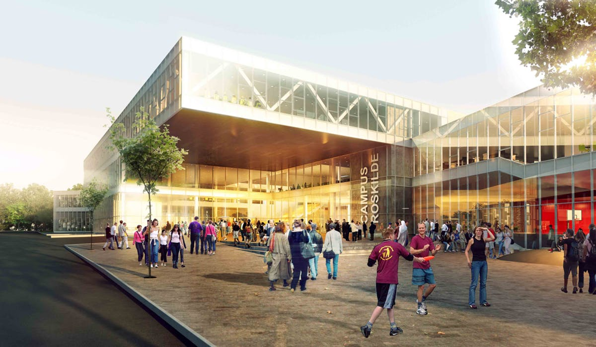 Henning Larsen Architects wins invited competition for campus in Roskilde, Denmark