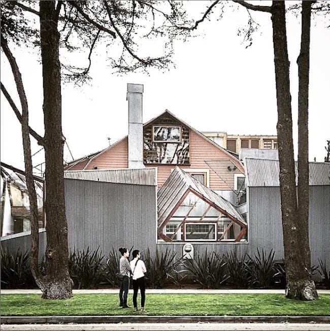 Gehry Residence. Photo courtesy of Takashi Yanai.