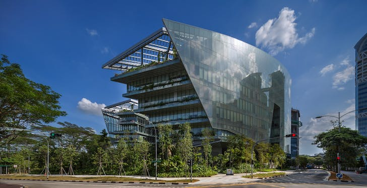 Sandcrawler, Singapore. Designed by Andrew Bromberg at Aedas. Photography: Paul Warchol.