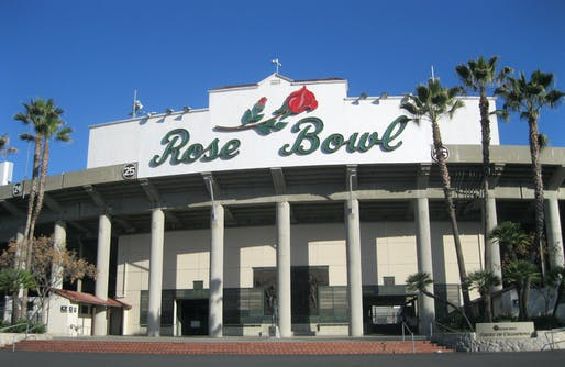 ​Rose Bowl, originally designed by Myron Hunt​ and restored by D'AIQ Architects, located in Pasadena, CA. Image: DAIQ.