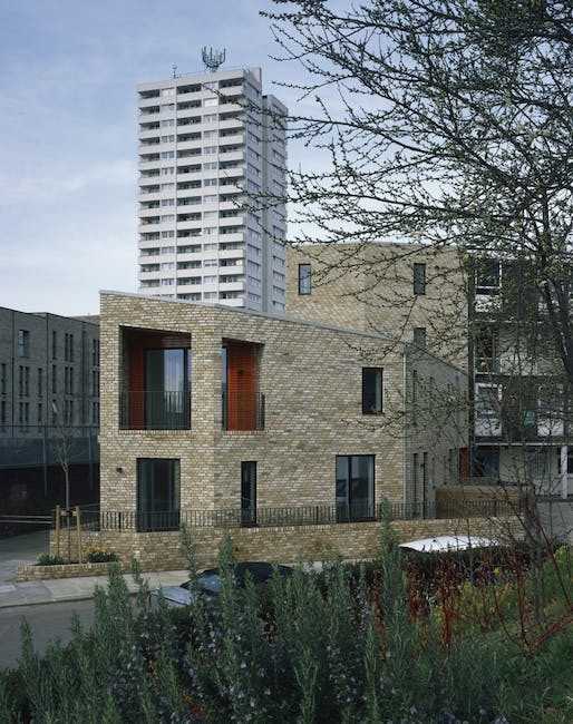 Gospell Oak Infill Sites, NW5 by Burd Haward Architects ltd for LB Camden