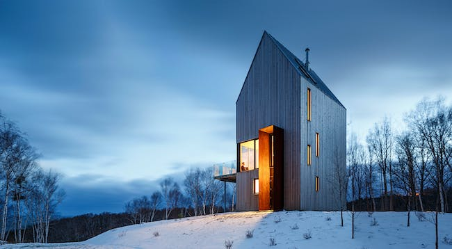 Rabbit Snare Gorge in Nova Scotia, Canada designed by Omar Gandhi Architect - a 2016 Emerging Voice | Photo © Doublespace Photography.