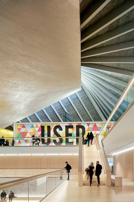 Design Museum located in west London. Image: Hufton + Crow.