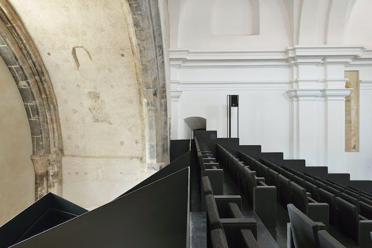 Main performance hall - Nave. Photo: Miran Kambič