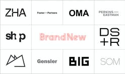 Brand New Reviews Logos of the 10 Most-Followed Firm Profiles on Archinect