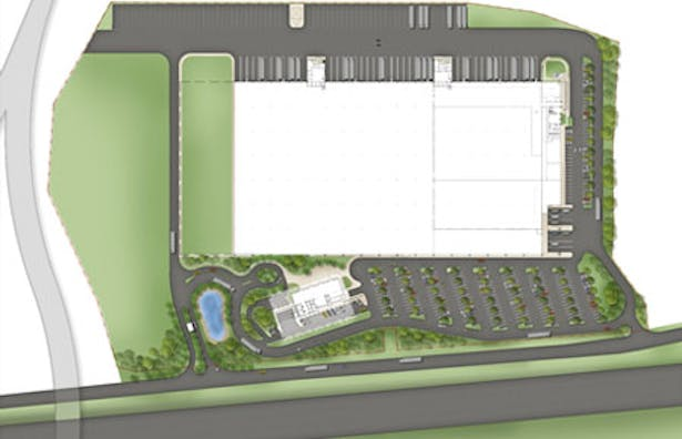 V. Suarez Office Building and Warehouse Site Plan
