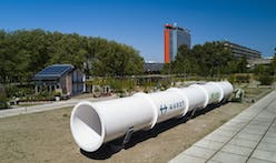 Work on Europe's first hyperloop test facility in Delft has been completed