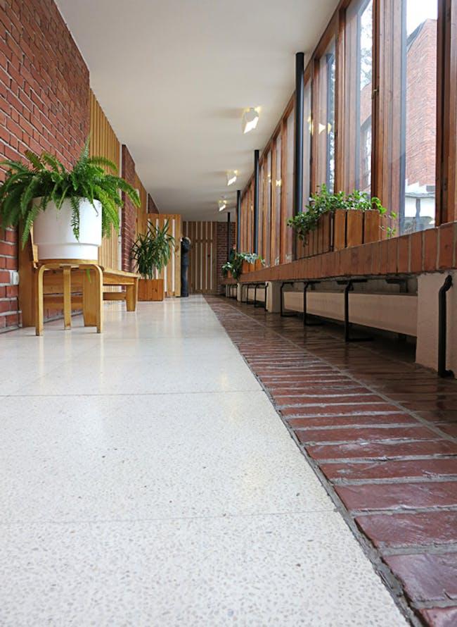 Hallway in Säynätsalo Townhall