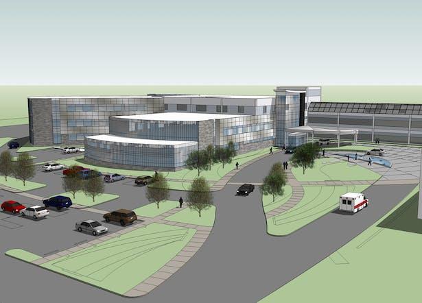 Adena Health System Northeast Expansion Jim Mcdonald Archinect