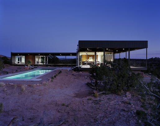 Hidden Valley in Moab, UT by Marmol Radziner; Photo: Joe Fletcher