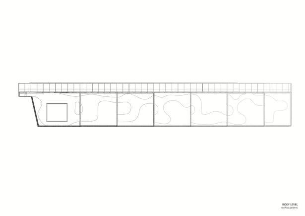 Roof level/Rooftop gardens. Copyright © Dark Arkitekter