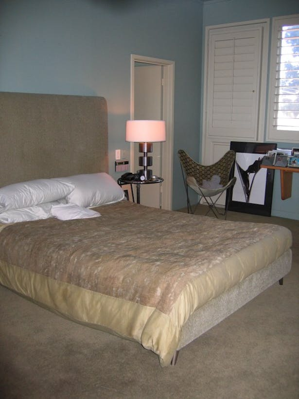 Before, Master Bed