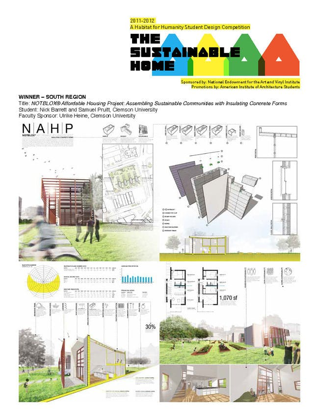 'NOTBLOX® Affordable Housing Project- Assembling Sustainable Communities with Insulating Concrete Forms.'.