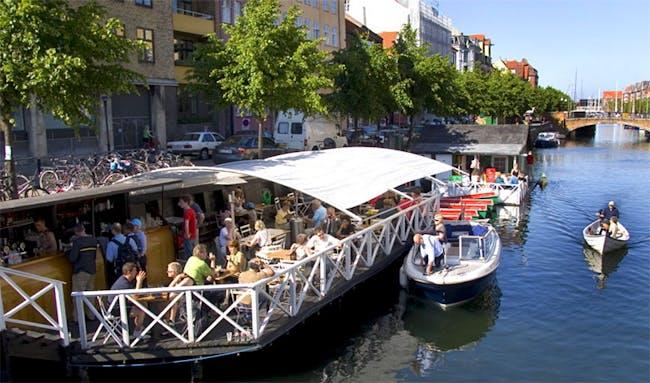 Christianshavn Boat Rental and Café. Photo courtesy of Bertelsen & Scheving.