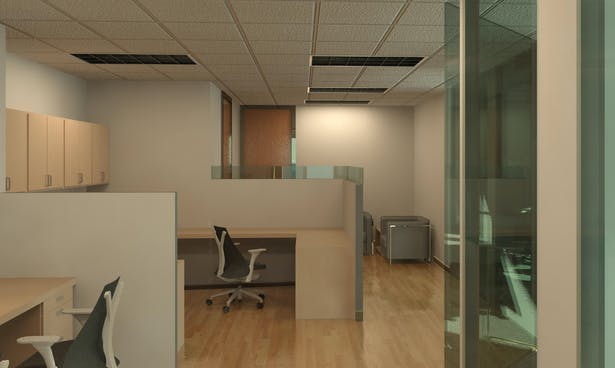 Reception/ Work Area - Scheme 2