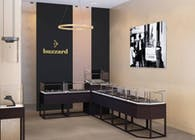 Jewelry boutique 'buzzard' in Moscow