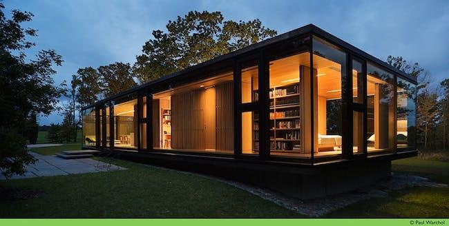 LM Guest House by Desai/Chia Architecture. Photo © Paul Warchol 2012