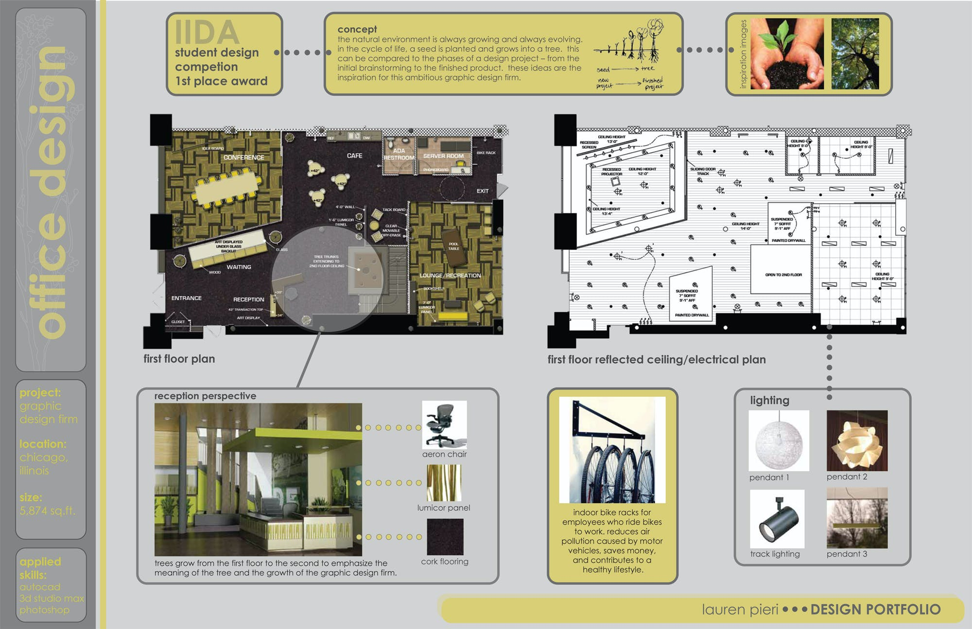 Purdue interior design portfolio lauren pieri archinect Portfolio home plans