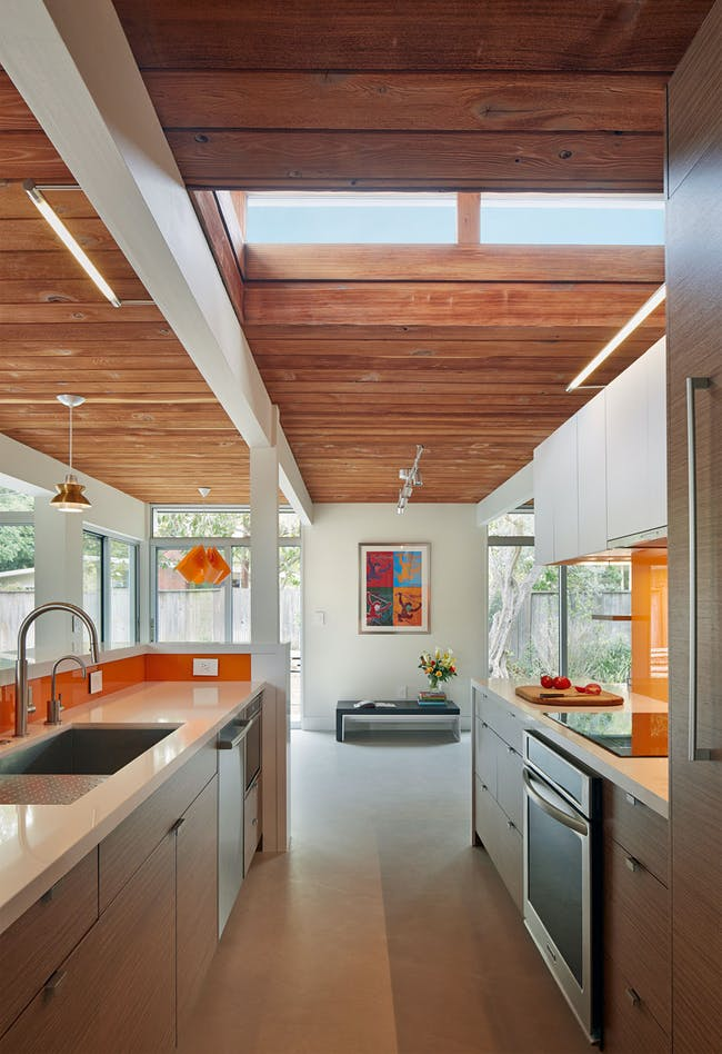 Eichler Remodel and Addition in Palo Alto, CA by jones | haydu; Photo: Bruce Damonte
