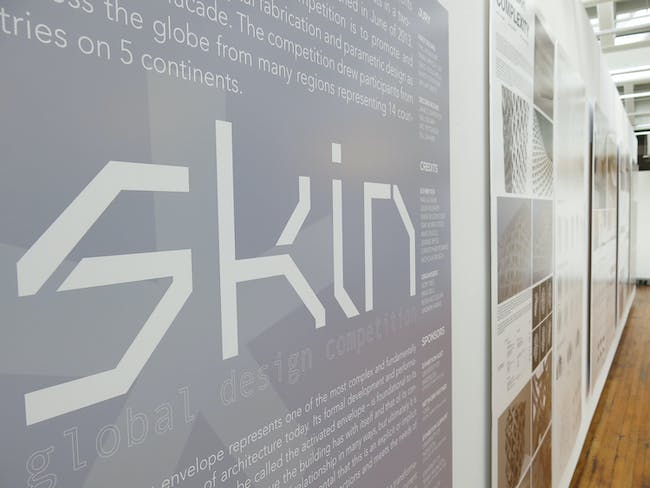 SKIN exhibition. Image courtesy of TEX-FAB.