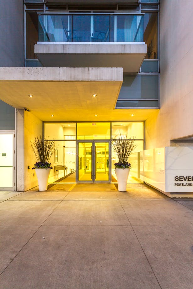 Seventy5 Portland Entrance