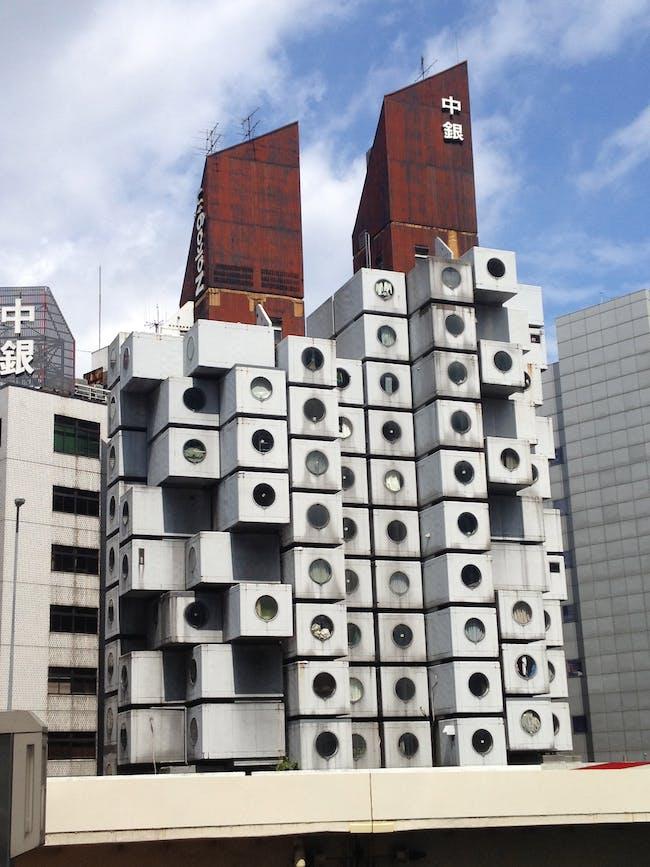 Nakagin Capsule Apartment - Kisho Kurokawa