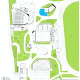 Plan GF. Image courtesy of OPEN Architecture