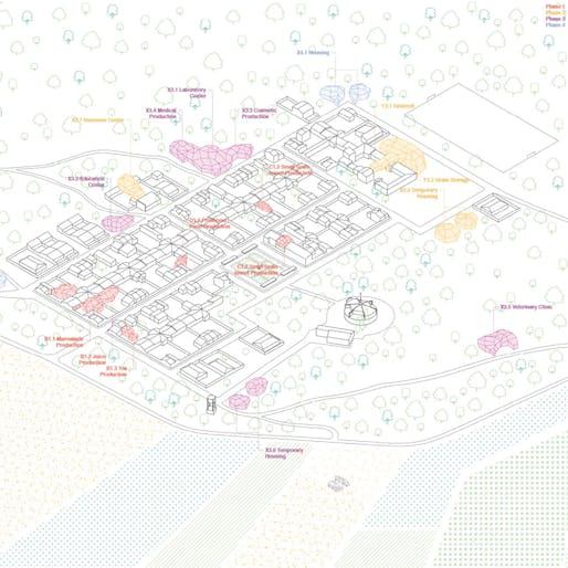 Industrial Building Award Winner – Rural Alchemy by Jose Lacruz Vela (Spain)