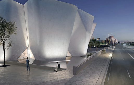 The Angers Collectors Museum. Courtesy of Steven Holl Architects, Compagnie de Phalsbourg and XO3D.