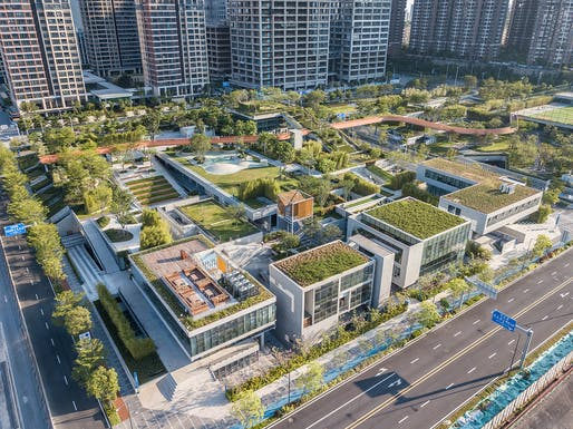 Vanke Liuxiandong Design Community - A4+B2 Plot Design by FCHA © Guanhong Chen