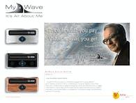 MyWave Logo, Billboard, and Product Design