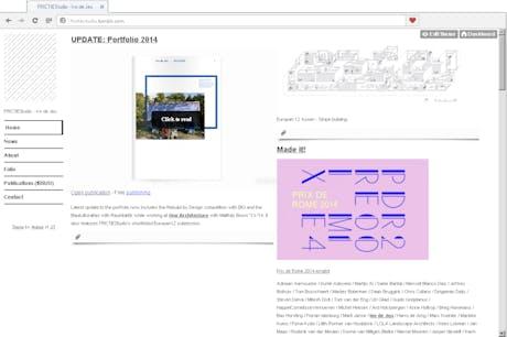 Published updated portfolio and website
