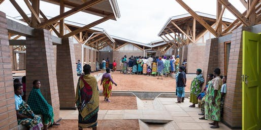 Image: Iwan Baan - The Maternity Waiting Village, Malawi, which was worked on by Mass Design Group