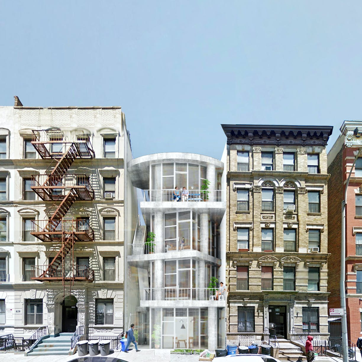 kwong von glinow design office wins new york affordable housing
